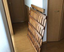 【北九州市八幡西区】2段ベッド、布団、すのこ回収 お客様の声
