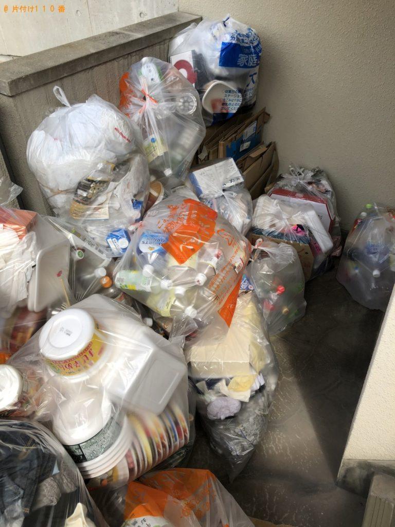【笠岡市】引越しに伴い雑多ごみの処分ご依頼 お客様の声