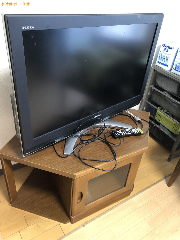 【北九州市八幡西区】テレビとテレビ台回収のご依頼 お客様の声