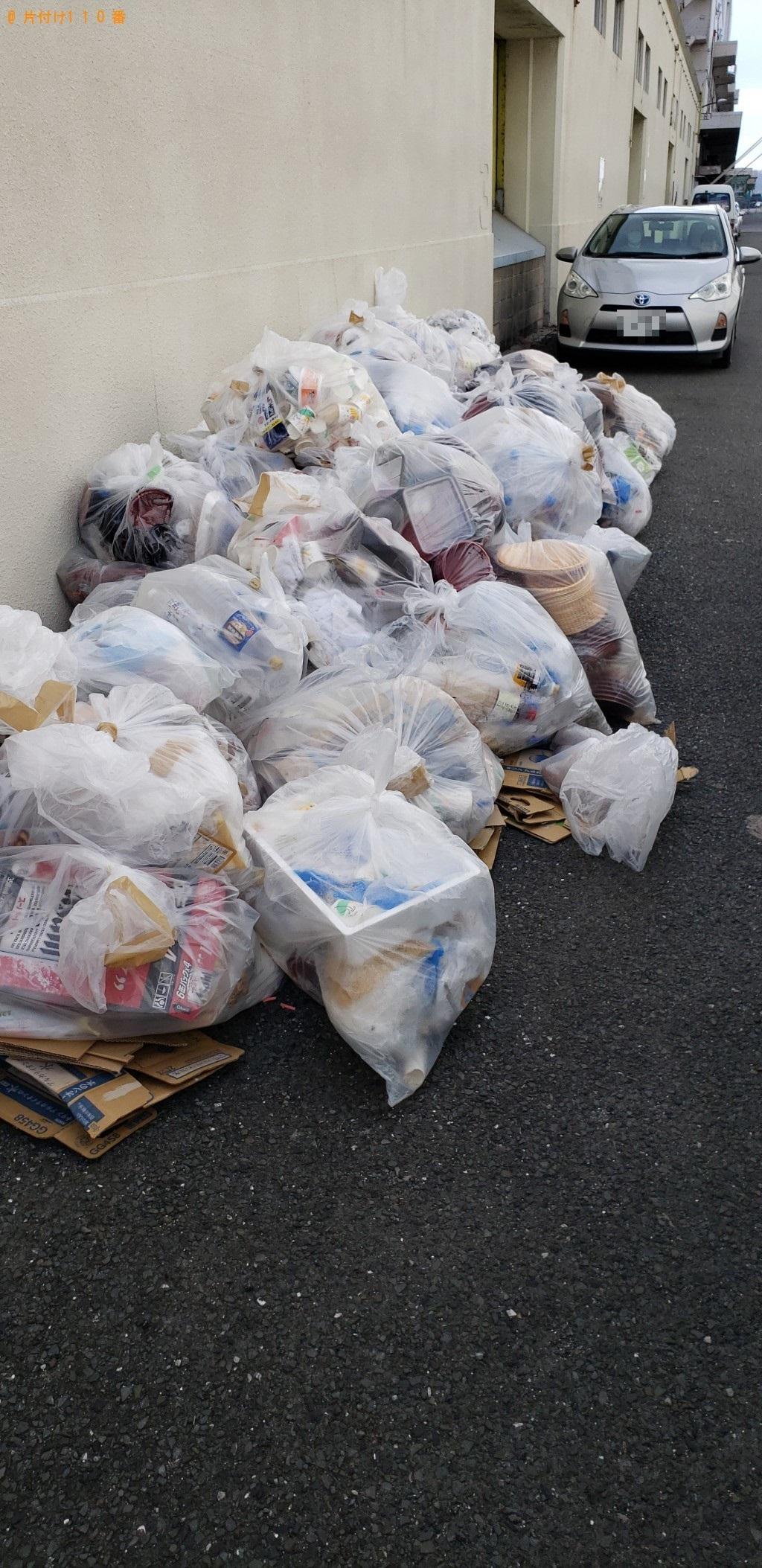 【北九州市門司区】生ゴミ、家庭ごみの回収・処分 お客様の声