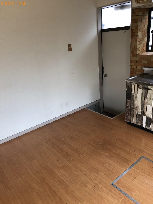 【北九州市小倉南区】冷蔵庫、デスク、ロフトベッドの回収・処分