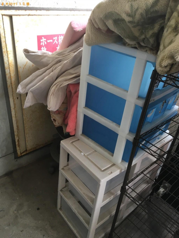 【北九州市小倉北区】冷蔵庫、布団、電子レンジ、収納ボックスの回収