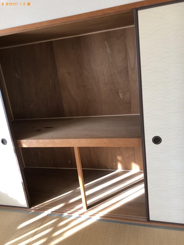 【北九州市八幡西区】ガスコンロ、食器棚、電子レンジ等の回収・処分
