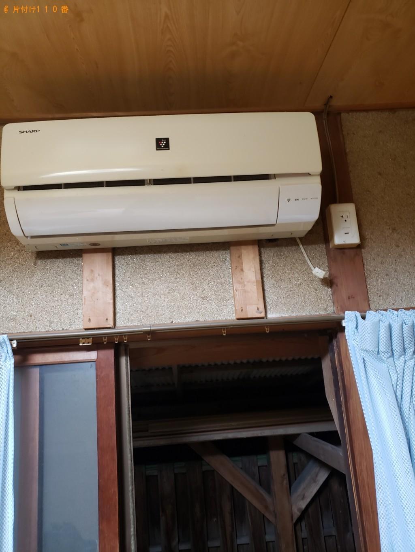 【北九州市小倉北区】エアコン、照明、本棚、整理タンス等の回収