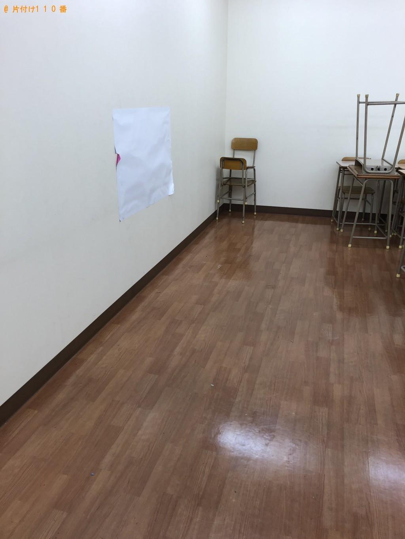 【北九州市小倉南区】学校用の机、ソファ、紙ごみ、冷蔵庫等の回収