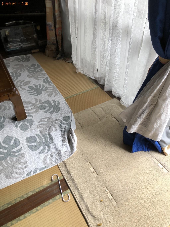 【北九州市八幡西区】庭木の伐採、マッサージチェアの回収・処分
