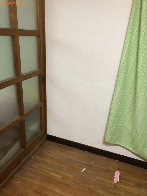 【北九州市門司区】ファンヒーター、整理タンス、ベビーベッドの回収