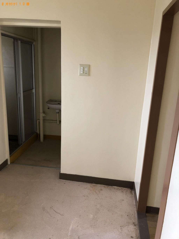 【北九州市若松区】冷蔵庫、エアコン、回転いす、学習机等の回収