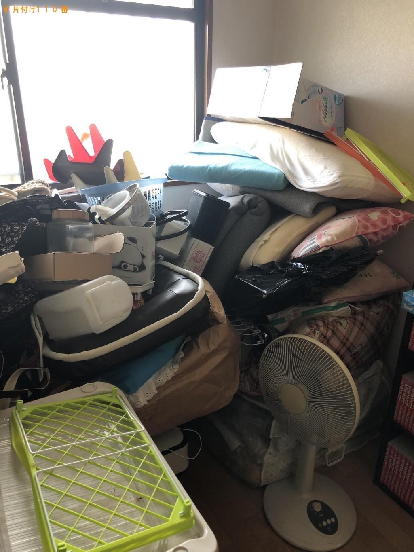 【北九州市八幡西区】段ボール、ソファ、座椅子、ふとん等の回収
