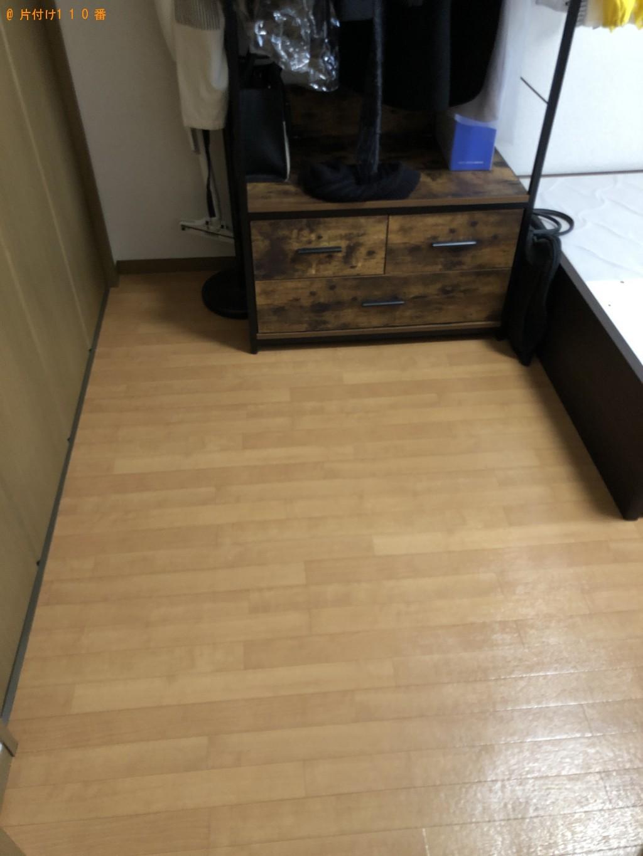 【北九州市小倉南区】ローテーブル、セミダブルマットレスの回収