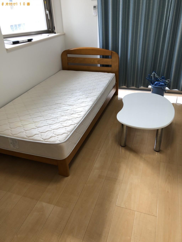 【北九州市戸畑区】冷蔵庫、洗濯機、シングルベッド等の回収・処分