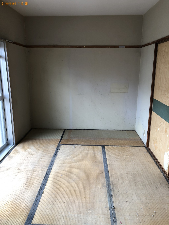 【北九州市】整理タンス、電子レンジ、冷蔵庫、ガスコンロ等の回収