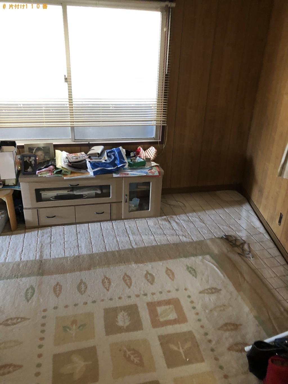 【北九州市八幡西区】整理タンス、食器棚、ソファー等の回収・処分
