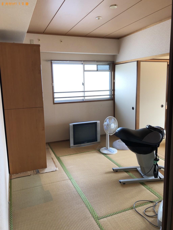 【北九州市八幡西区】ロデオボーイ、アンテナ、洗濯機等の回収・処分