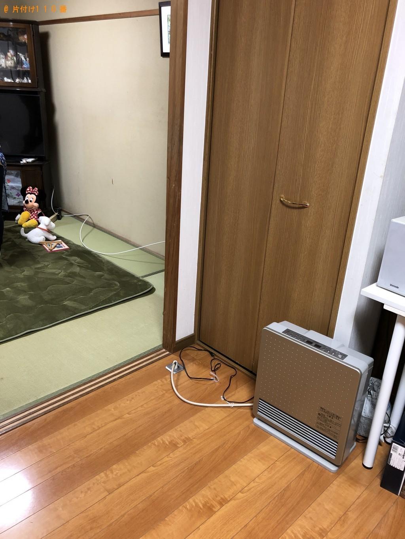 【北九州市八幡東区】サイドボード、レンジ台の回収・処分ご依頼