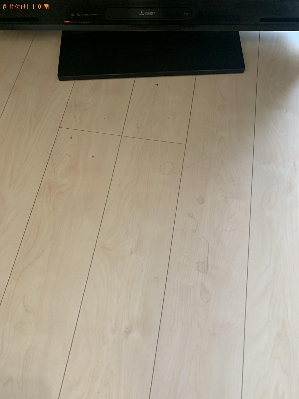 【北九州市】4人用ダイニングテーブル(椅子付)の回収・処分ご依頼