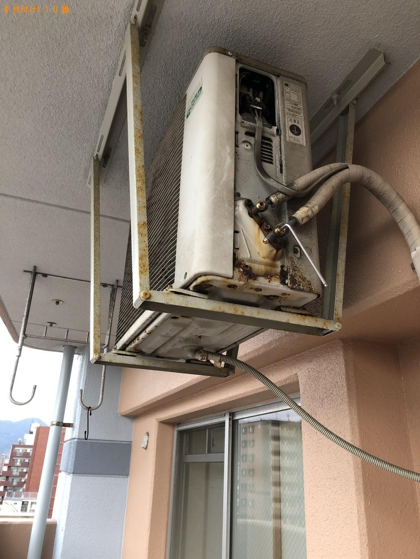 【北九州市門司区】エアコンの取り外し・回収ご依頼 お客様の声