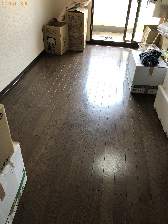 【北九州市戸畑区】シングルベッド、学習机、洗濯機の回収・処分