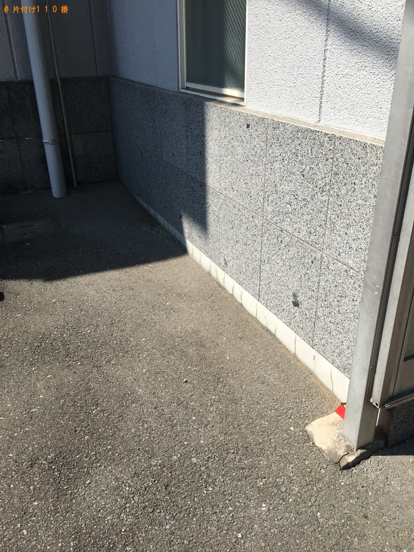 【北九州市八幡西区】セミダブルベッドの回収・処分ご依頼