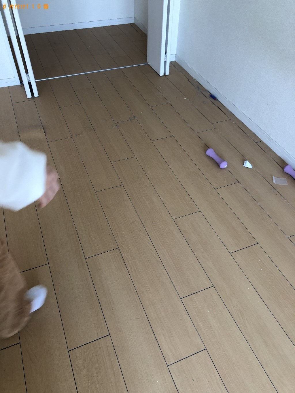 【北九州市八幡西区】ダブルベッドの枠の回収・処分ご依頼