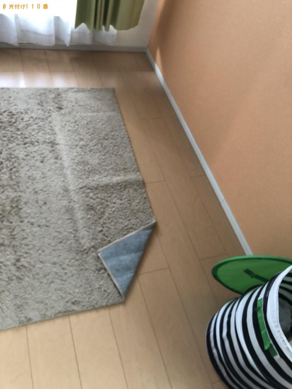 【北九州市】洗濯機、シングルベッド、ソファーの回収・処分ご依頼