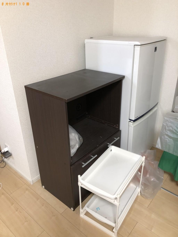 【北九州市八幡西区】冷蔵庫、掃除機、収納棚、ダンボール等の回収