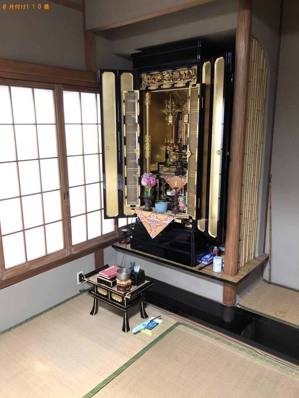 【北九州市小倉北区】仏壇、仏具の回収・処分ご依頼 お客様の声