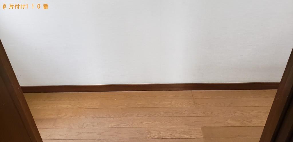 【北九州市】冷蔵庫、タンス、ガラステーブル、布団等の回収・処分