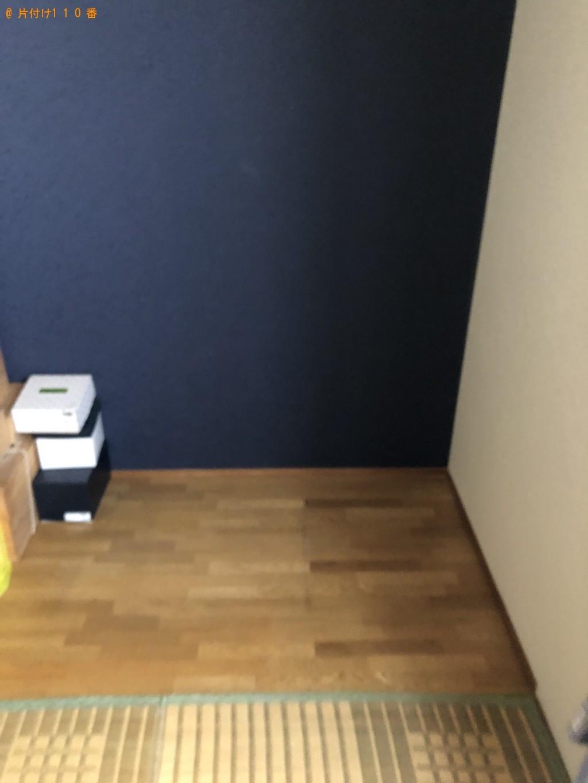 【北九州市八幡西区】壇、仏具、弓矢、ガラスケース等の回収・処分