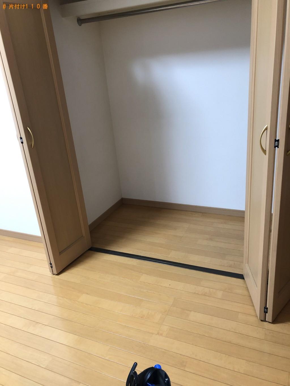 【北九州市小倉北区】テレビ、冷蔵庫等の回収とハウスクリーニング
