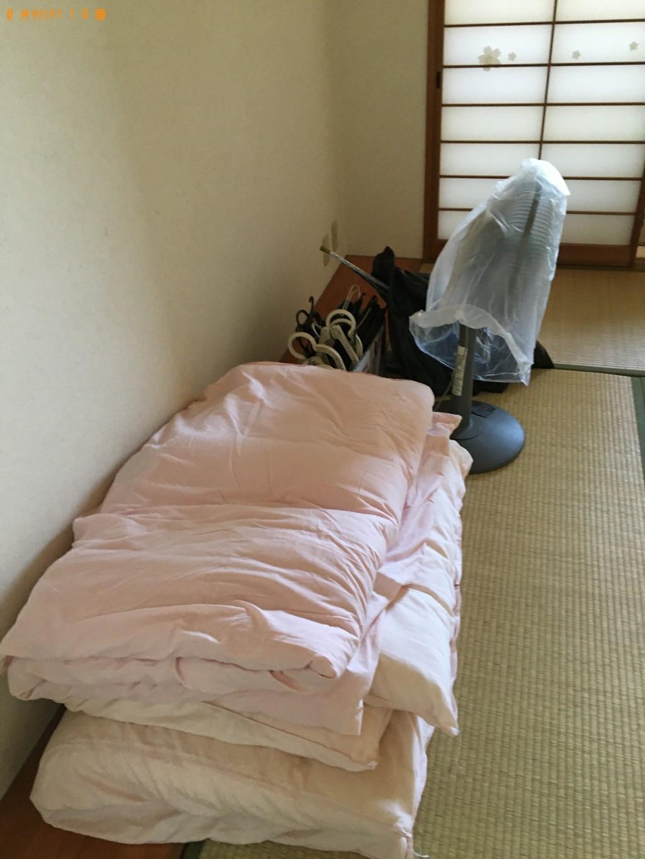【北九州市八幡西区】ドラム式洗濯機、扇風機、布団、家庭ごみの回収