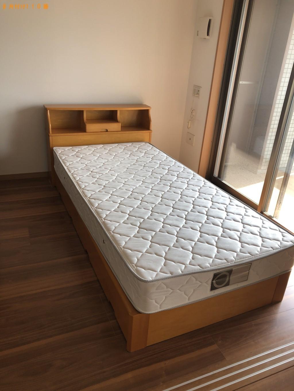 【北九州市小倉北区】シングルベッド、ベッドマットレスの回収・処分