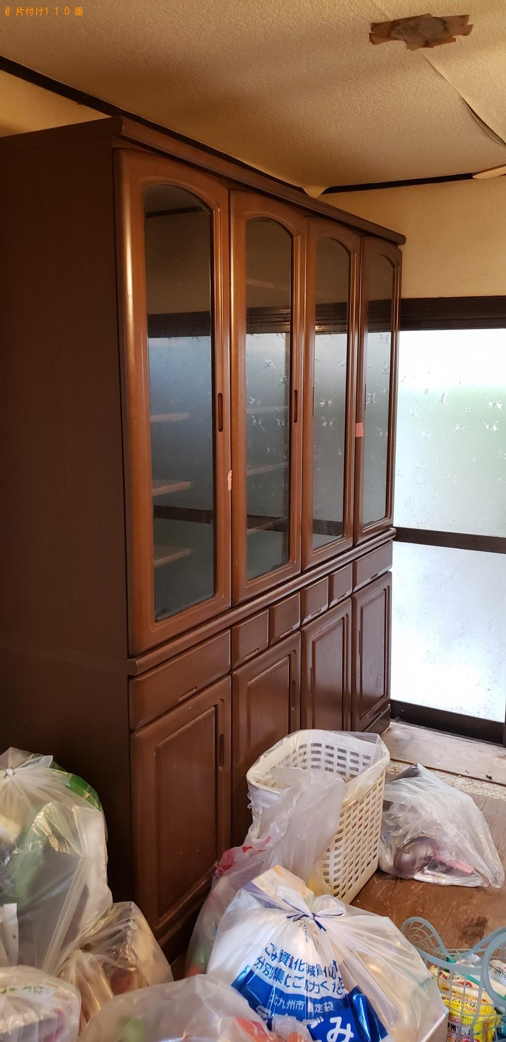【北九州市門司区】本棚、クローゼット、食器棚の回収・処分ご依頼