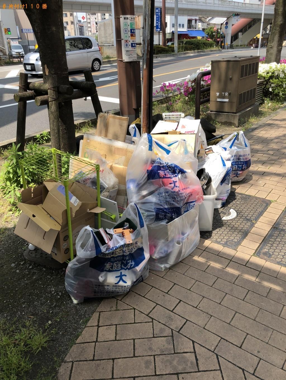 【北九州市小倉北区】衣装ケース、ダンボール、家庭ごみ等の回収