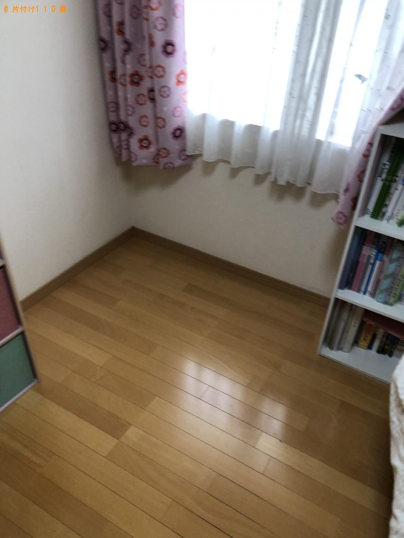 【北九州市小倉南区】タンス、学習机、ルームランナーの回収・処分