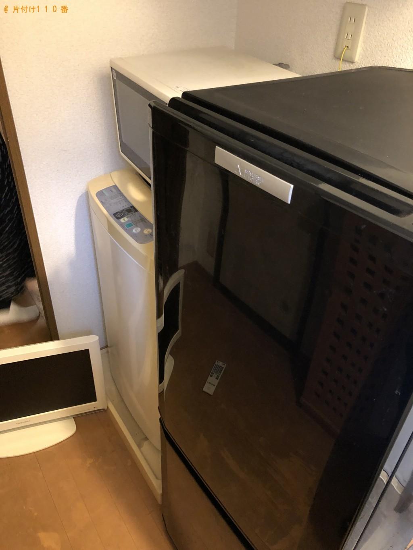【北九州市小倉北区】冷蔵庫、洗濯機、テレビなどの回収 お客様の声