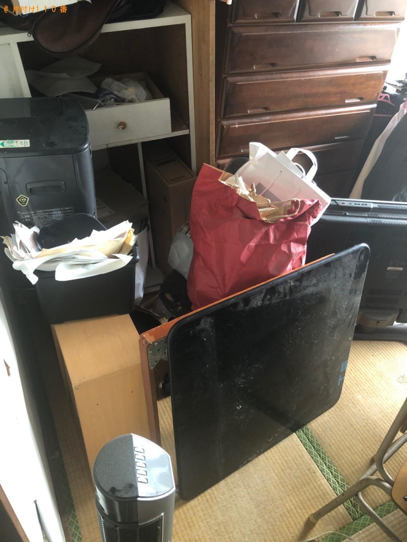 【北九州市八幡西区】テレビ、二人用ダイニングテーブルの回収・処分ご依頼