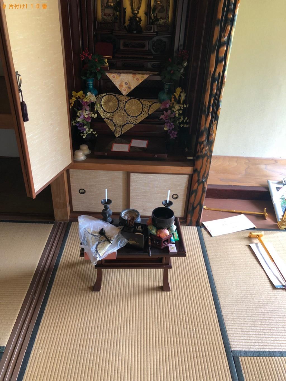 【北九州市若松区】仏壇の回収・処分ご依頼 お客様の声
