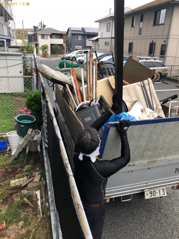 【北九州市門司区】椅子、座椅子、ゴミ箱、棒等の回収・処分ご依頼