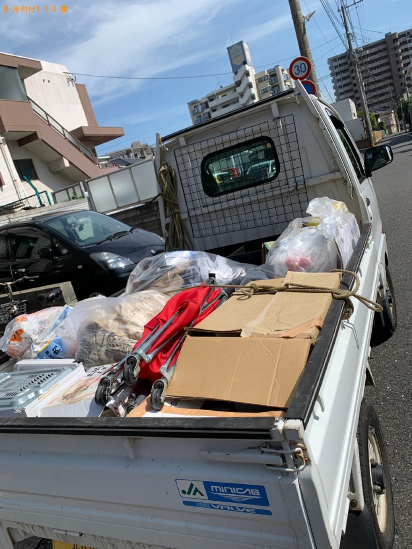 【北九州市小倉北区】炊飯器、電子レンジ、布団カバー等の回収・処分
