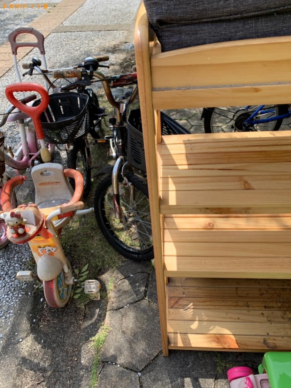 【北九州市小倉北区】ソファー、自転車、ペット用品の回収・処分