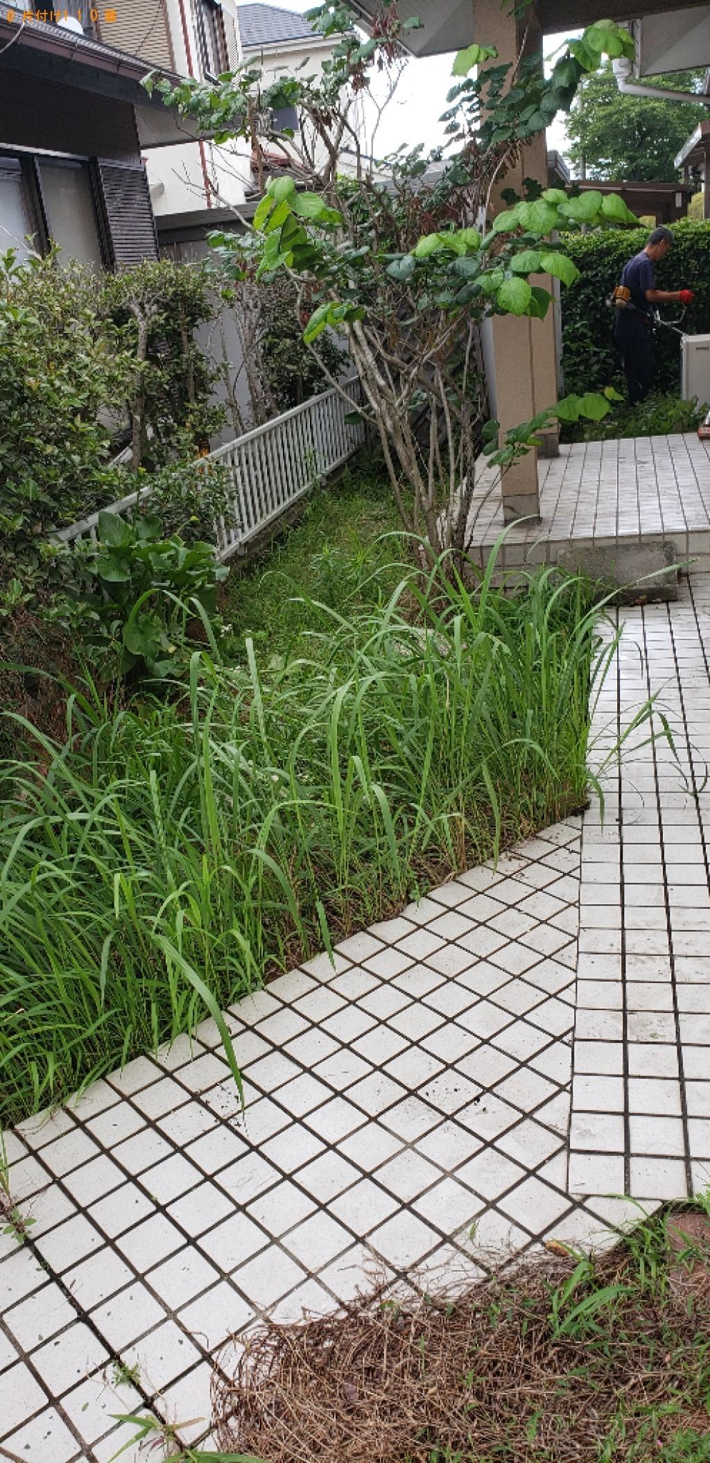 【北九州市小倉南区】生け垣剪定と草刈りご依頼 お客様の声
