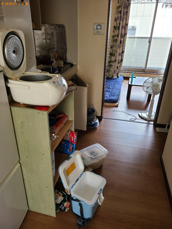 【北九州市八幡西区】炊飯器、カラーボックス、扇風機等の回収