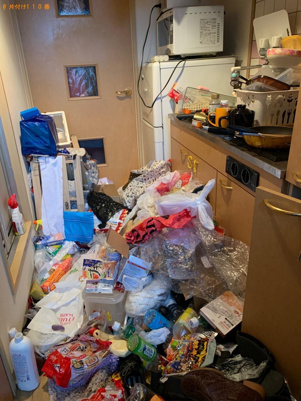 【北九州市小倉北区】混在ゴミの回収・処分ご依頼 お客様の声
