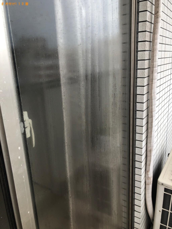 【北九州市小倉北区】窓ガラス・サッシクリーニングご依頼
