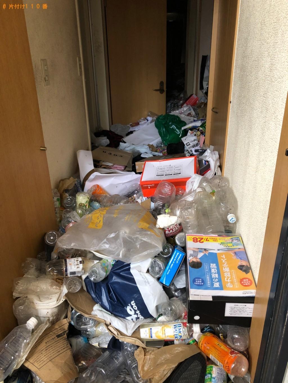 【北九州市小倉北区】一般ごみの回収とハウスクリーニングご依頼