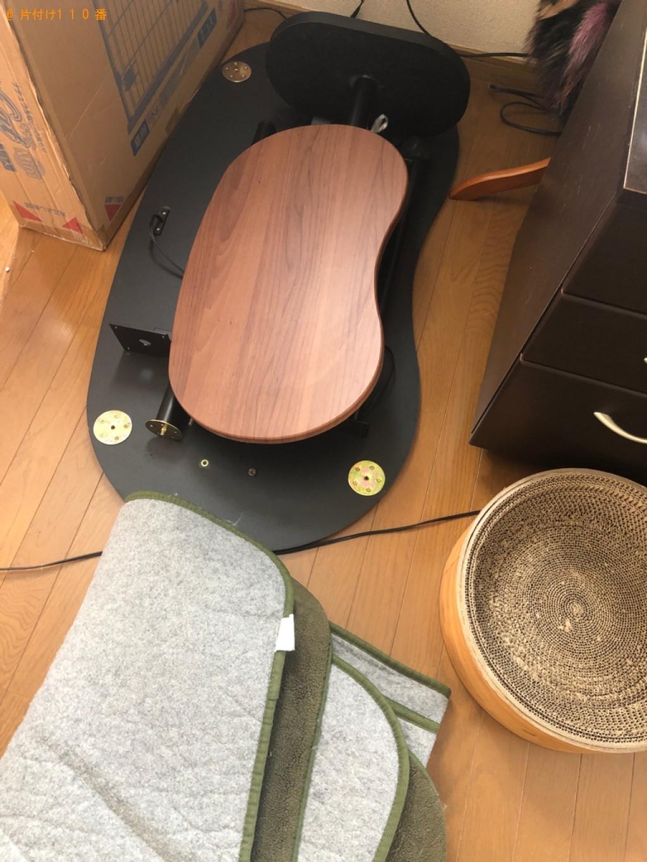 【北九州市八幡西区】カーペット、学習机の回収・処分ご依頼