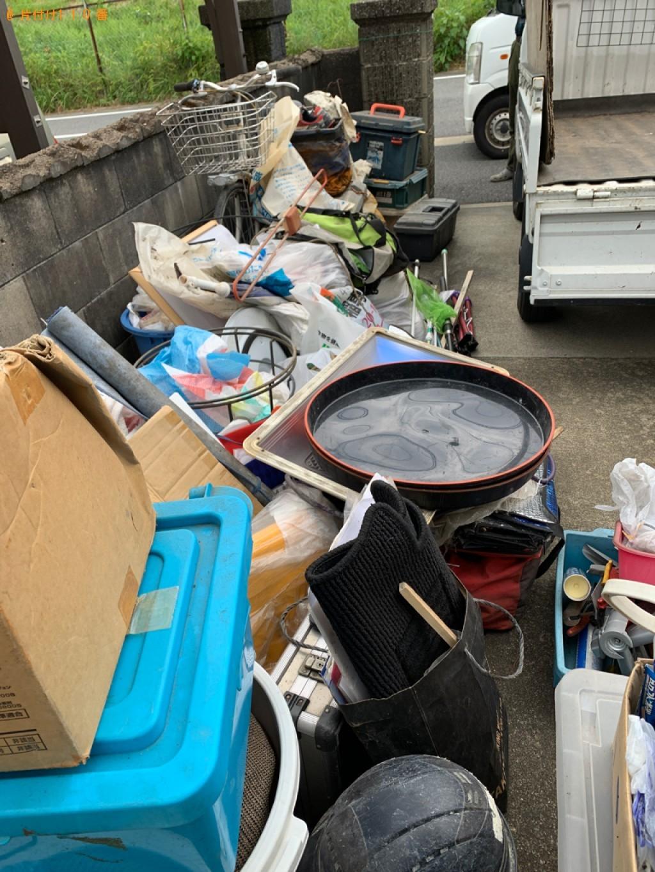 【北九州市八幡西区】自転車、バケツ、鉢植え、残土、ケース等の回収