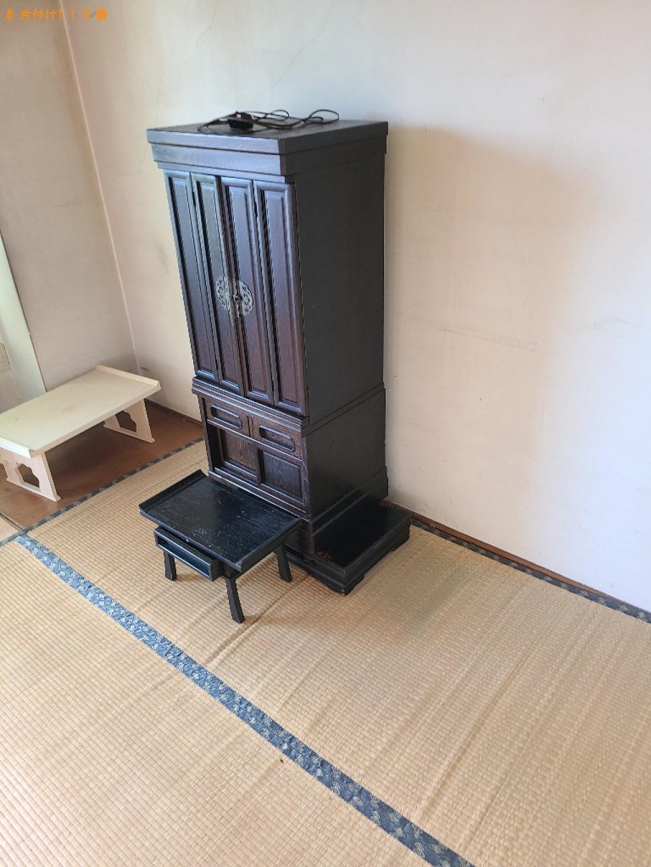 【北九州市小倉北区】仏壇の回収・処分ご依頼 お客様の声