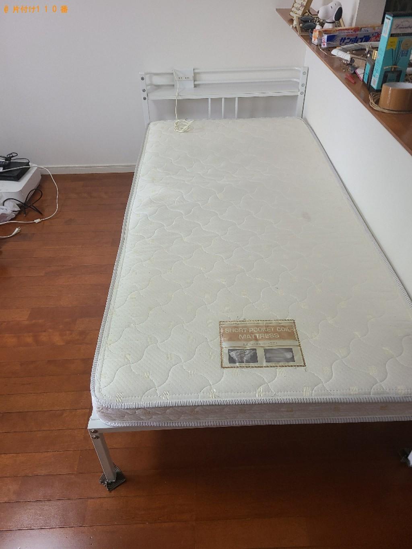 【北九州市門司区】カーペット、シングルベッド等の回収・処分ご依頼